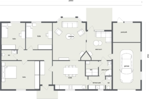 Baltic 206 - 2D Floor Plan